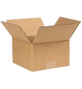 "7"" x 7"" x 4 1/2"" Corrugated Boxes (Bundle of 25)"