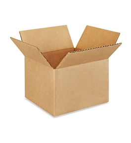 "7"" x 7"" x 5"" Corrugated Boxes (Bundle of 25)"