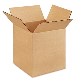 "7"" x 7"" x 8"" Corrugated Boxes (Bundle of 25)"