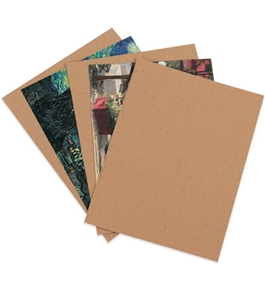"8 1/2"" x 11"" Heavy-Duty Chipboard Pads (750 Each Per Case)"