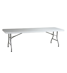 8 Foot Resin Multi-Purpose Folding Table