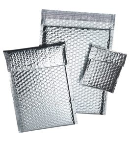 "8"" x 11"" Cool Shield Bubble Mailers (100 Per Case)"