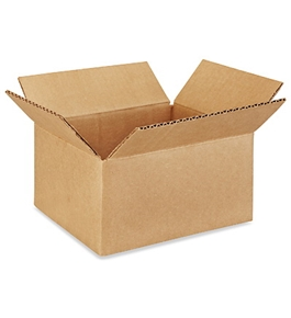 "8"" x 6"" x 4"" Corrugated Boxes (Bundle of 25)"