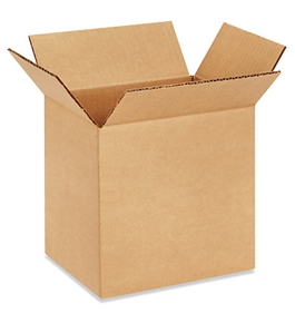 "8"" x 6"" x 8"" Corrugated Boxes (Bundle of 25)"