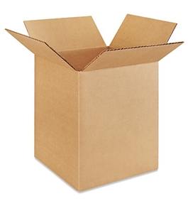 "8"" x 8"" x 10"" Corrugated Boxes (Bundle of 25)"