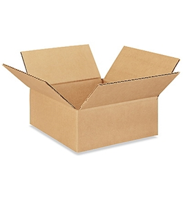 "8"" x 8"" x 3"" Corrugated Boxes (Bundle of 25)"