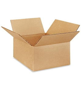 "8"" x 8"" x 4"" Corrugated Boxes (Bundle of 25)"