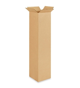 "8"" x 8"" x 40"" Tall Corrugated Boxes (Bundle of 20)"