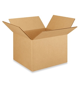 "8"" x 8"" x 6"" Corrugated Boxes (Bundle of 25)"