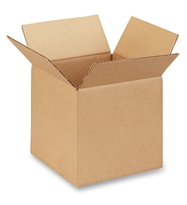 "8"" x 8"" x 8"" Corrugated Boxes (Bundle of 25)"
