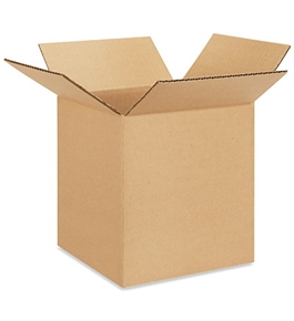"8"" x 8"" x 9"" Corrugated Boxes (Bundle of 25)"