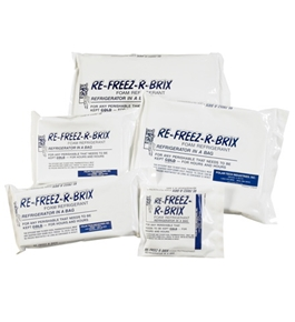 "9"" x 4"" x 3"" Re-Freez-R-Brix™ Cold Bricks (8 Per Case)"