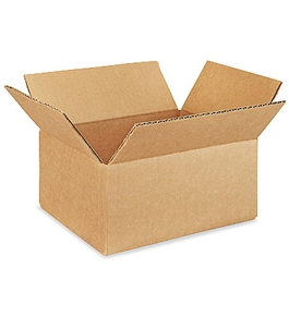 "9"" x 7"" x 4"" Corrugated Boxes (Bundle of 25)"