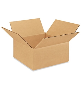 "9"" x 8"" x 4"" Corrugated Boxes (Bundle of 25)"