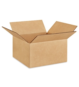 "9"" x 8"" x 6"" Corrugated Boxes (Bundle of 25)"