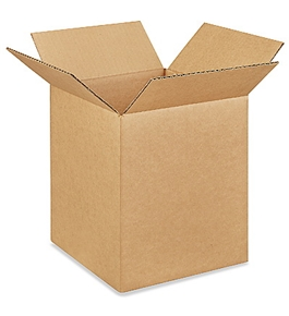 "9"" x 9"" x 11"" Corrugated Boxes (Bundle of 25)"