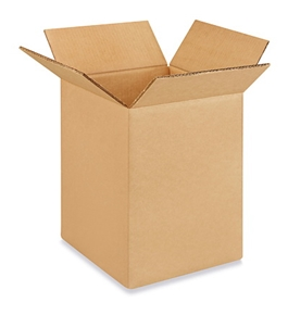 "9"" x 9"" x 12"" Corrugated Boxes (Bundle of 25)"