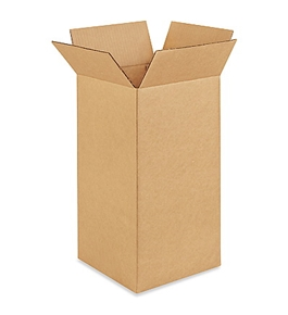 "9"" x 9"" x 18"" Corrugated Boxes (Bundle of 25)"