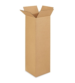 "9"" x 9"" x 30"" Tall Corrugated Boxes (Bundle of 25)"