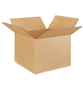 "9"" x 9"" x 7"" Corrugated Boxes (Bundle of 25)"