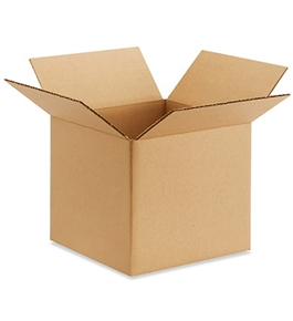 "9"" x 9"" x 8"" Corrugated Boxes (Bundle of 25)"