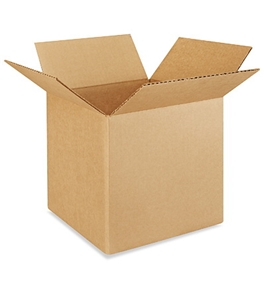 "9"" x 9"" x 9"" Corrugated Boxes (Bundle of 25)"