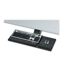 Fellowes Designer Suites Compact Keyboard Tray, Black (8017801)
