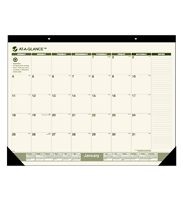 AT-A-GLANCE Recycled Desk Pad, SK32G00
