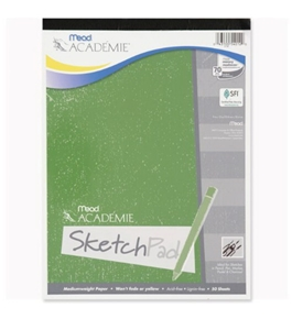 Academie Sketch Pad, 9 x 12 Inches 50 Sheets (54012)