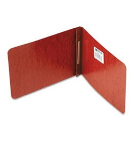 ACCO Pressboard Report Covers, 5.5 x 8.5 Inches, 2 Inch Capacity, Red (A7011038)