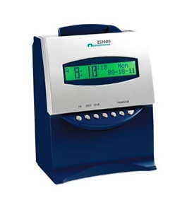 Acroprint ES1000 Electronic Totalizing Payroll Recorder and Time Stamp Time Clock