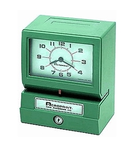 Acroprint 150 Automatic Time Clock