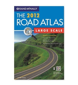 Advantus RM528006282 2012 United States Road Atlas, Large Type, Soft Cover