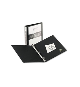 Avery Economy View Binder with 1-Inch Round Ring, Black  (05710)