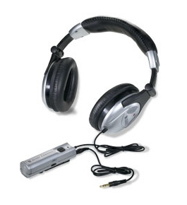 Altec Lansing AHP7121E Headphones Active Noise Reduction