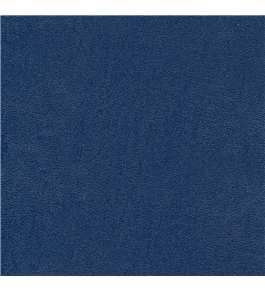 Akiles 16 Mil Navy Blue Leather Embossed Plastic Binding Report Covers 8-1/2 x 11 Qty 50