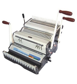 Akiles DuoMac C41ECI 4:1 Coil & Comb Binding Machine with Electric Inserter and Comb Opener