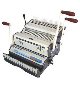 Akiles DuoMac C41ECI+ Plastic Comb and 4:1 Coil Binding Machine