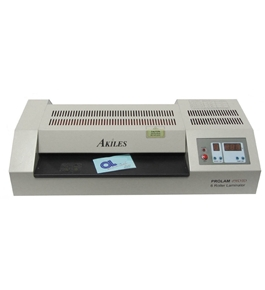 "Akiles Pro-Lam Photo 13"" 6 Roller Hot & Cold Pouch Laminator Laminating Machine 110 Volt"
