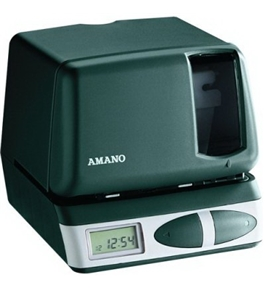 AMAPIX21A021 - Amano PIX-21 Electronic Time Clock Time Stamp