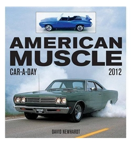 American Muscle Car-a-Day 2012 Boxed Calendar