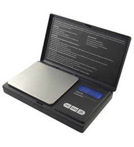 American Weigh Signature Series Black AWS-100-BLK Digital Pocket Scale, 1000 by 0.01 G
