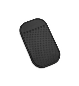 Anti Slip Car Dashboard Mat for Cell Phone CD Electronic Devices, Washable, Black