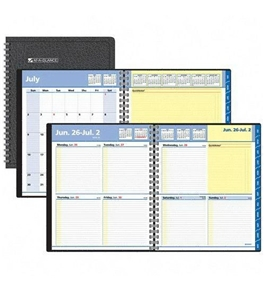 AT-A-GLANCE QuickNotes School Year Appointment Book, 8 x 10, Black