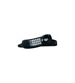 AT&T 210 Corded Phone, Black, 1 Handset