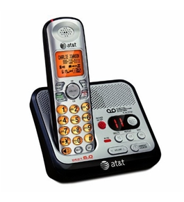 AT&T EL52100 DECT 6.0 Digital Cordless Answering System