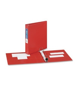 Avery Heavy-Duty Binder with 1.5-Inch One Touch EZD Ring, Red (79585)