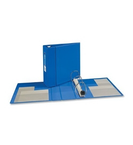 Avery Heavy-Duty Binder with 4-Inch One Touch EZD Ring, Blue (79884)