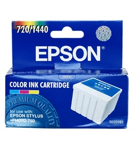 Epson S020193 Color/Photo Ink Cartridge (Stylus Photo 750 Printer)