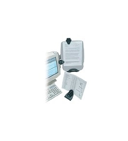 Kensington Monitor InSight Plus Ergonomic Document Holder and Organizer (K62063B)
